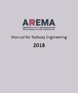 Arema manual for railway engineering chapter 8