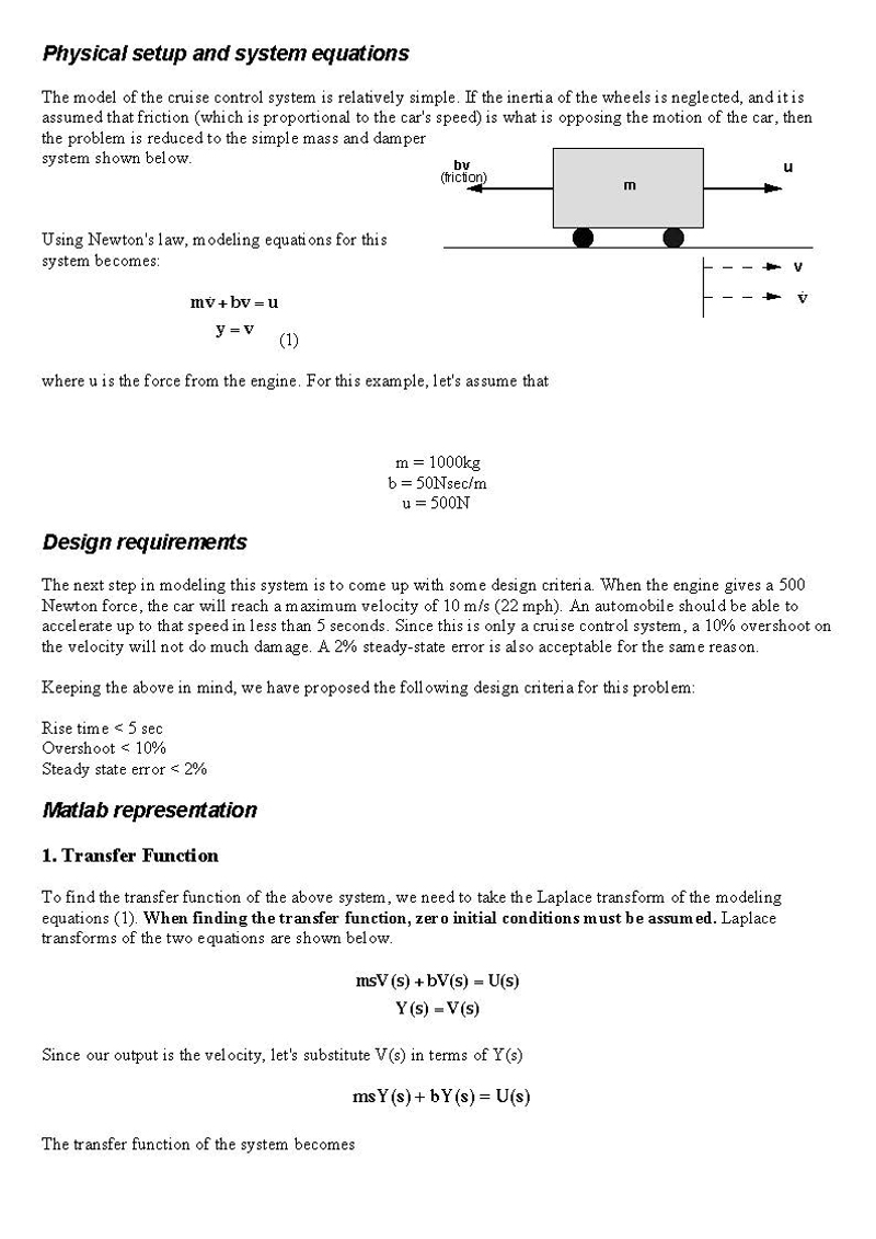 Suspension system parts and function pdf