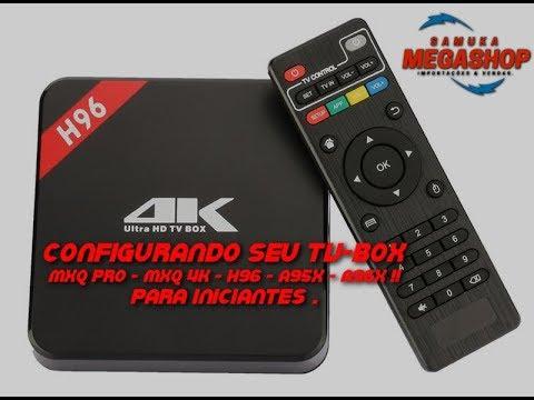 manual for mxq pro tv box