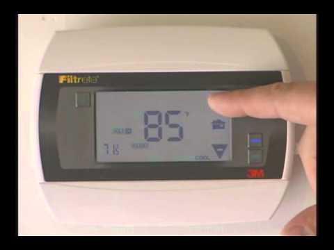 Filtrete 3m 25 thermostat manual