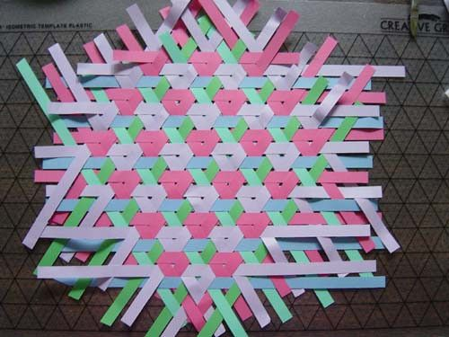 woven paper basket instructions