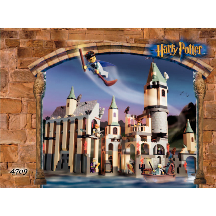 Lego hogwarts castle instructions