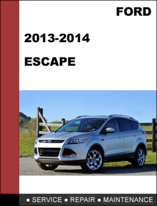 2014 ford escape repair manual