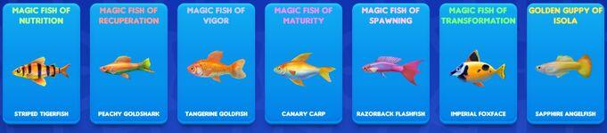 Fish tycoon 2 magic fish breeding guide
