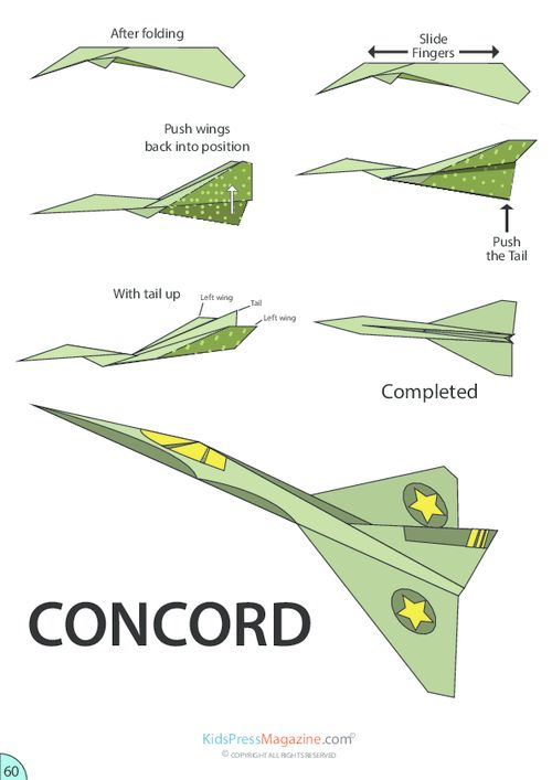 cool paper airplane designs instructions