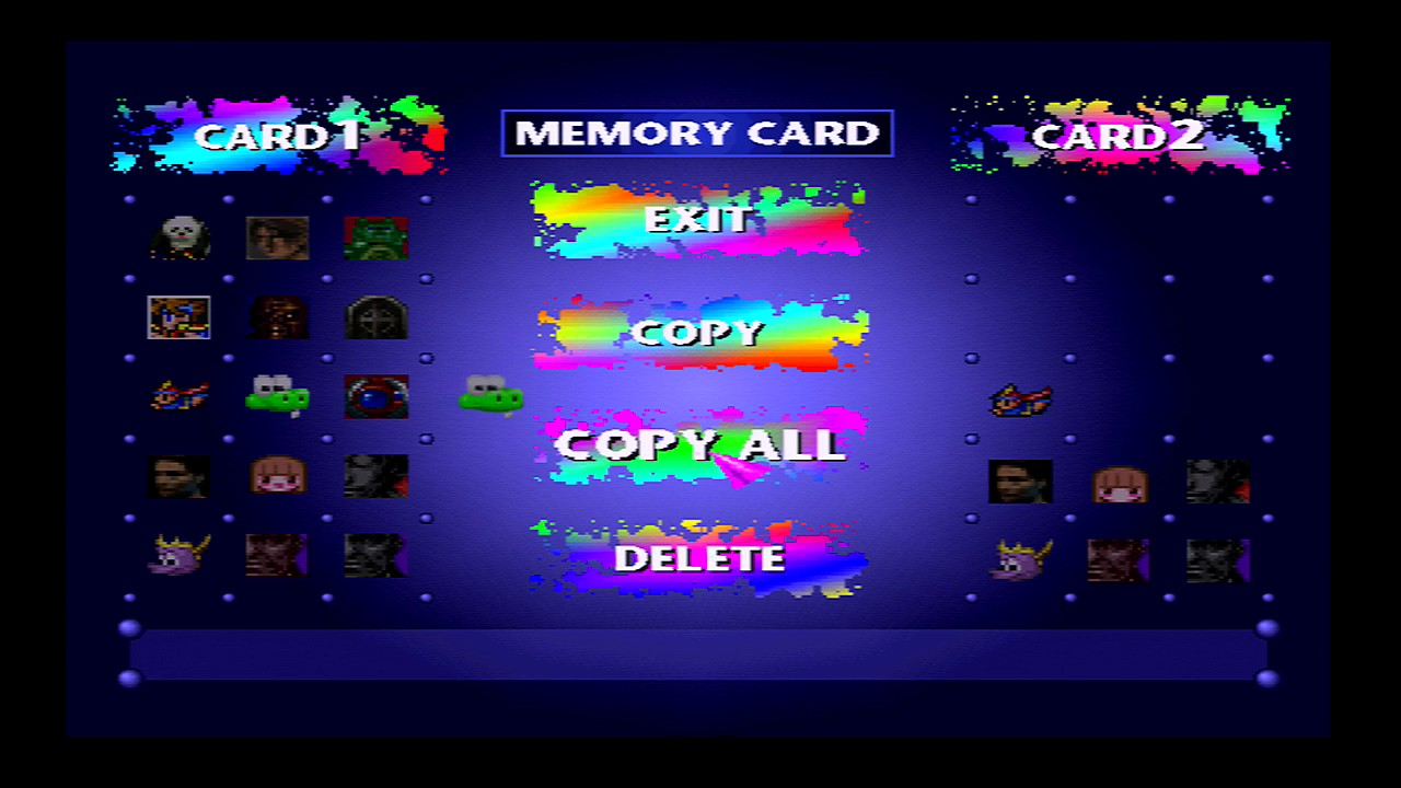 Epsxe how to create memory card