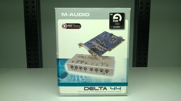 M audio delta 44 manual