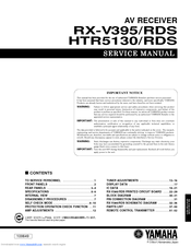 Yamaha rx 497 service manual