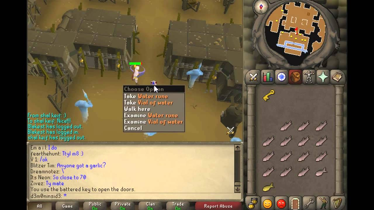 Old school runescape smithing guide
