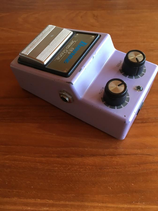 ibanez cs9 stereo chorus manual
