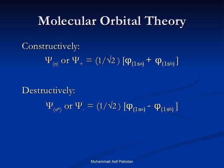 Limitations of molecular orbital theory pdf