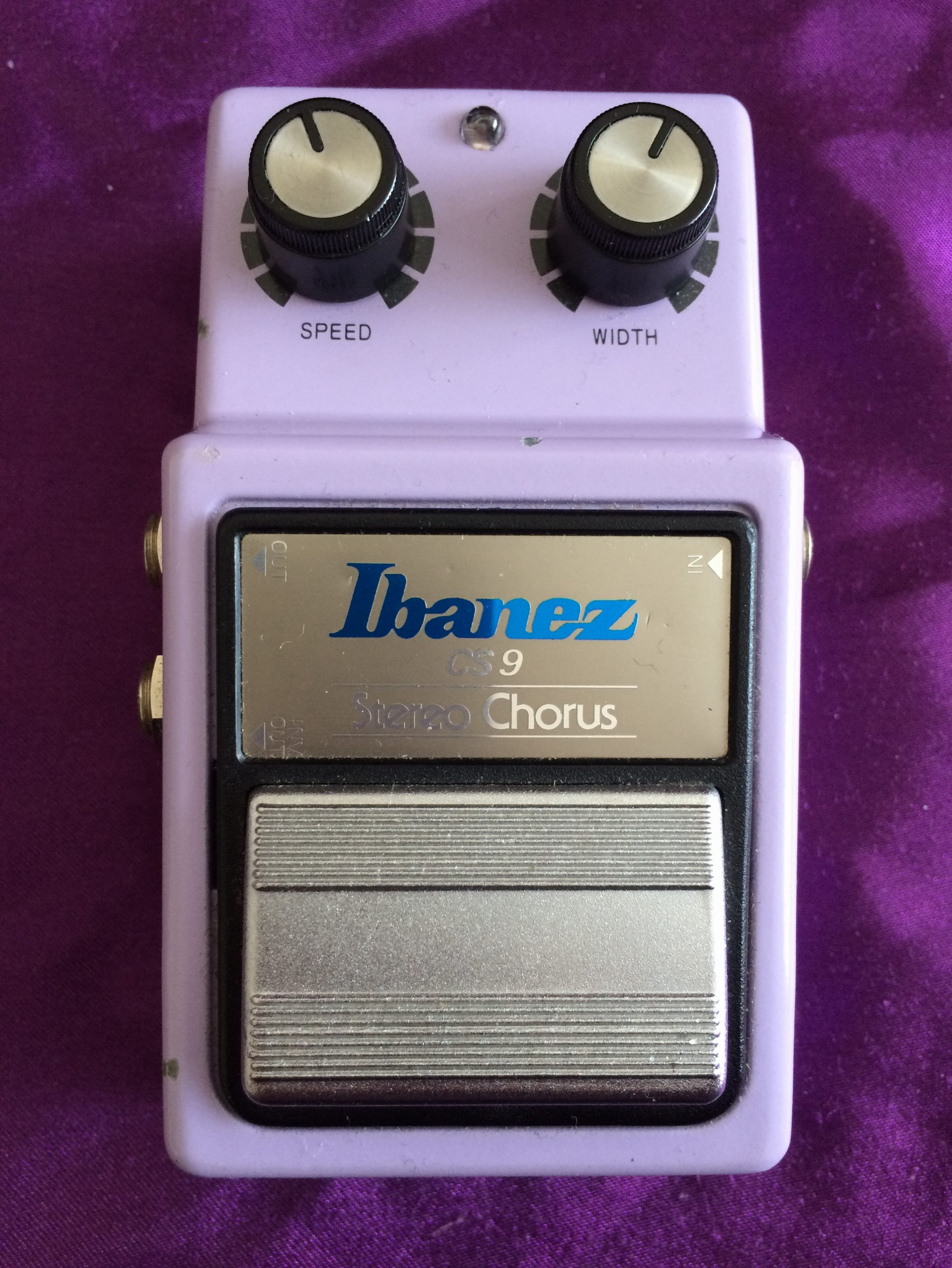 ibanez cs9 stereo chorus manual