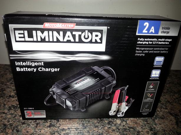 eliminator intelligent battery charger manual