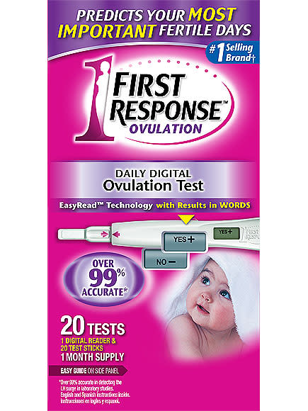 first response ovulation test kit instructions