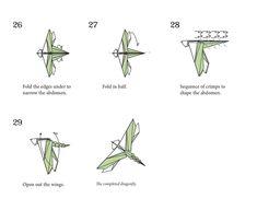 dollar origami dragon instructions