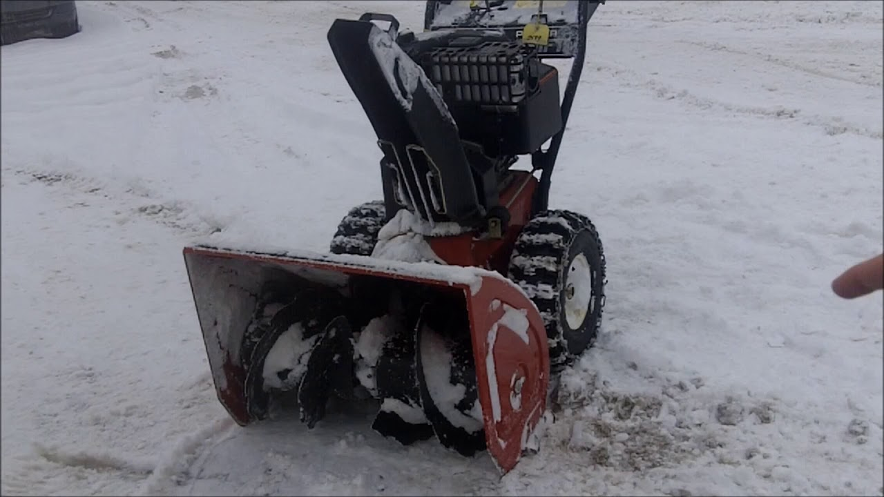 toro 1028 powershift snowblower manual