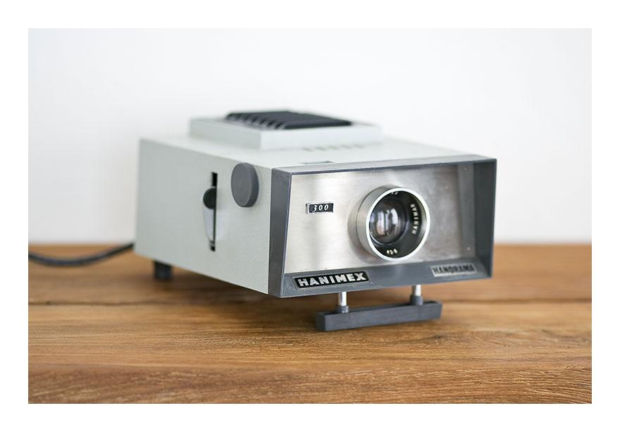 Hanimex la ronde slide projector manual