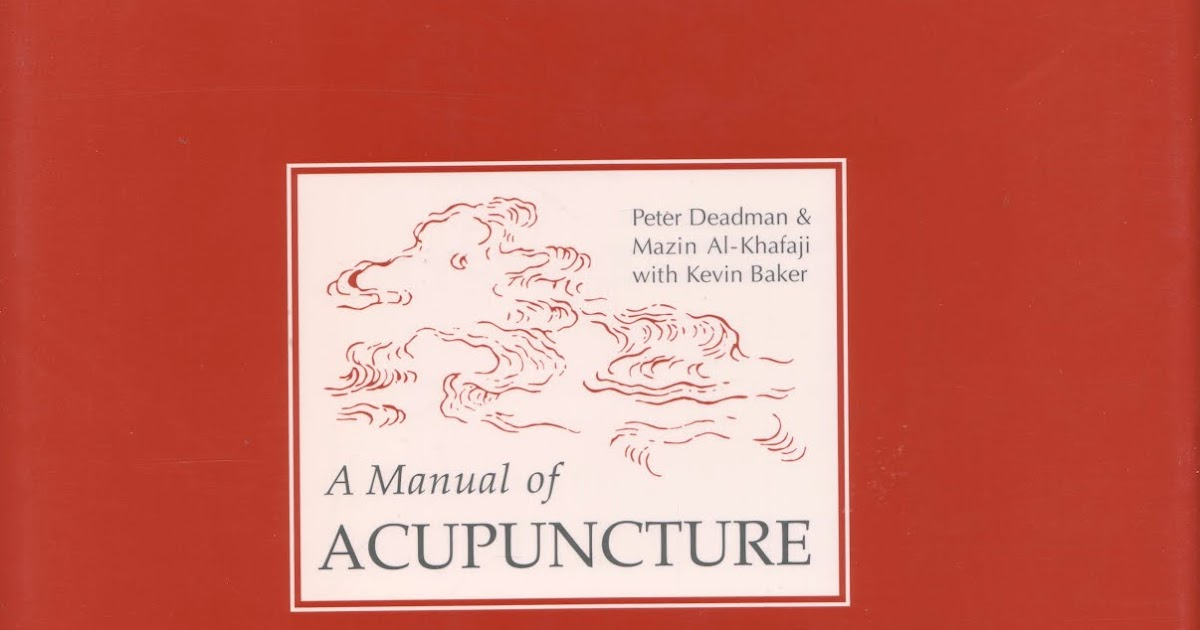 a manual of acupuncture ebook