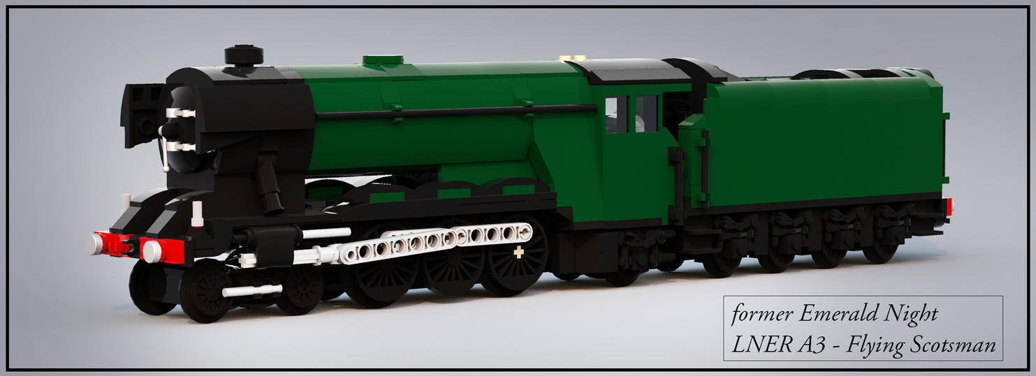 lego flying scotsman train instructions
