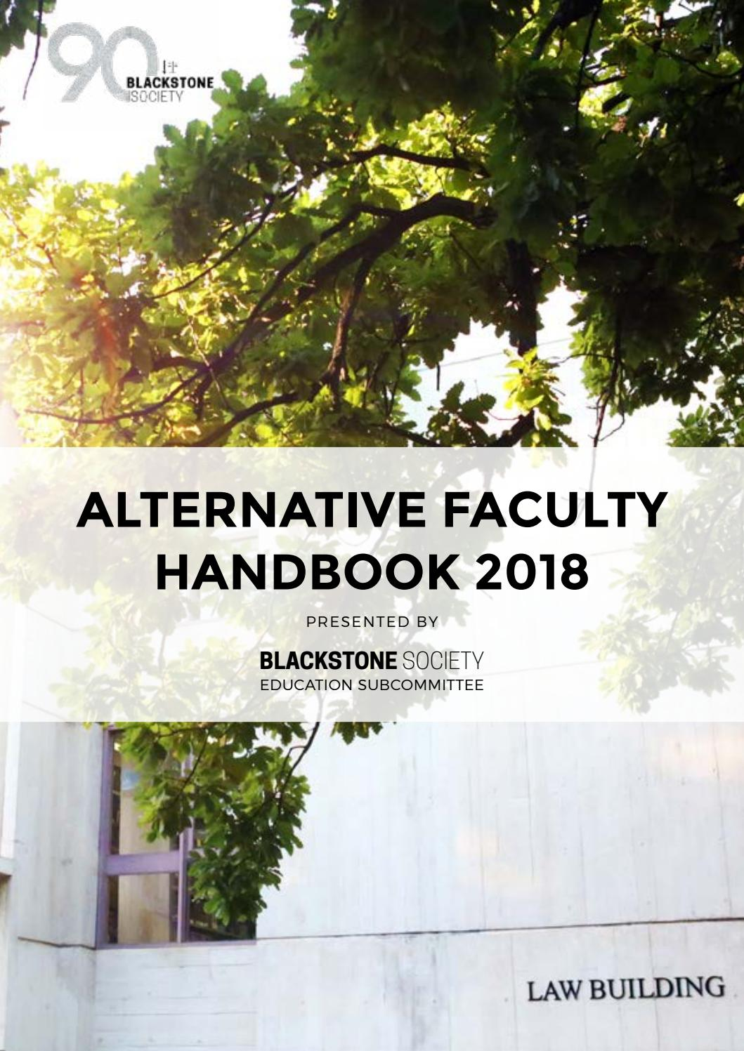 Evidence and proof unimelb 2018 handbook