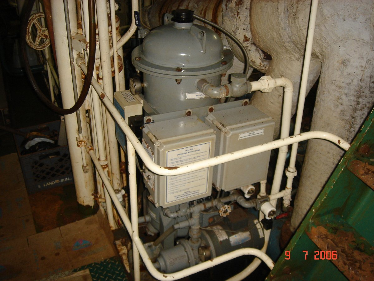 Heli sep oily water separator manual