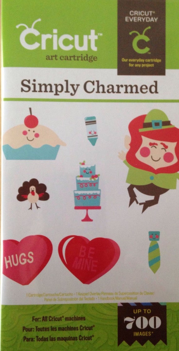 Simply charmed cricut cartridge handbook