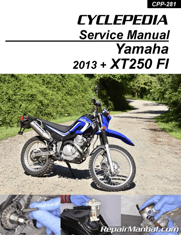 2013 yamaha xt250 owners manual