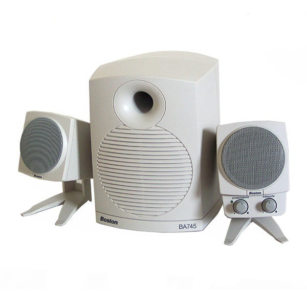 boston acoustics ba745 computer speakers manual