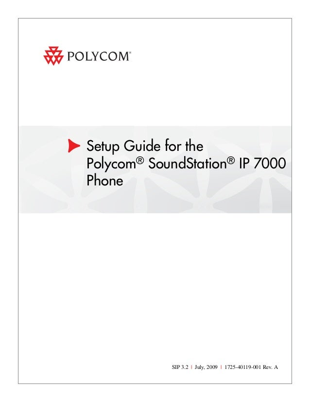 Polycom spectralink 8440 user manual