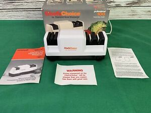 chefs choice knife sharpener 100 instructions