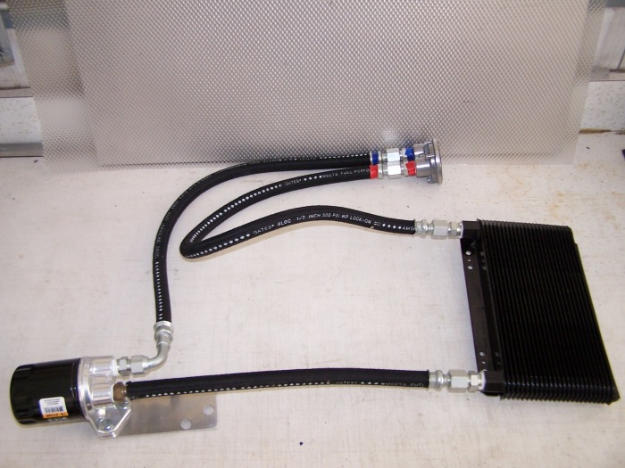ht racing oil cooler instructions