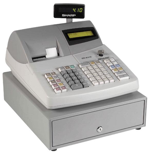 er a420 cash register manual