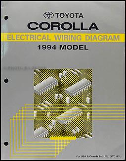 1994 toyota corolla owners manual