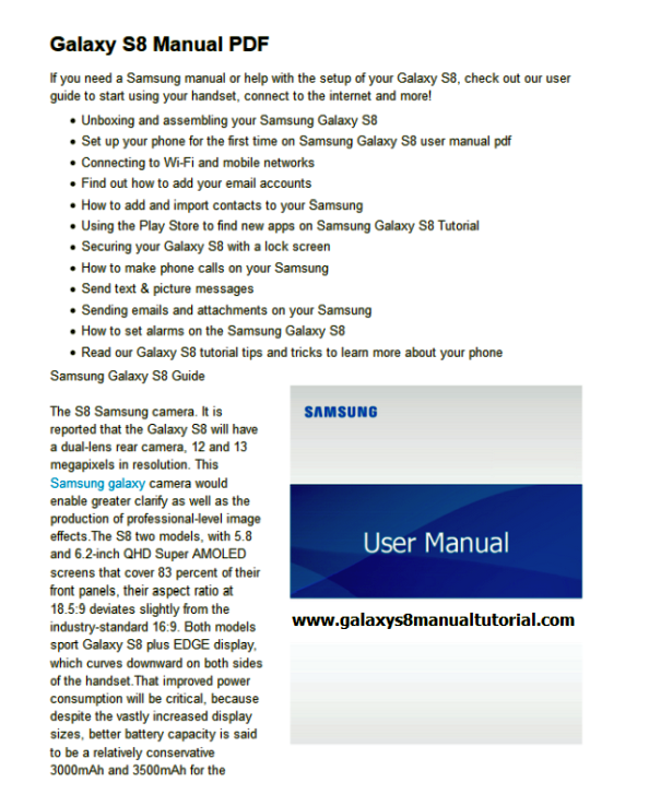 samsung galaxy rugby manual download