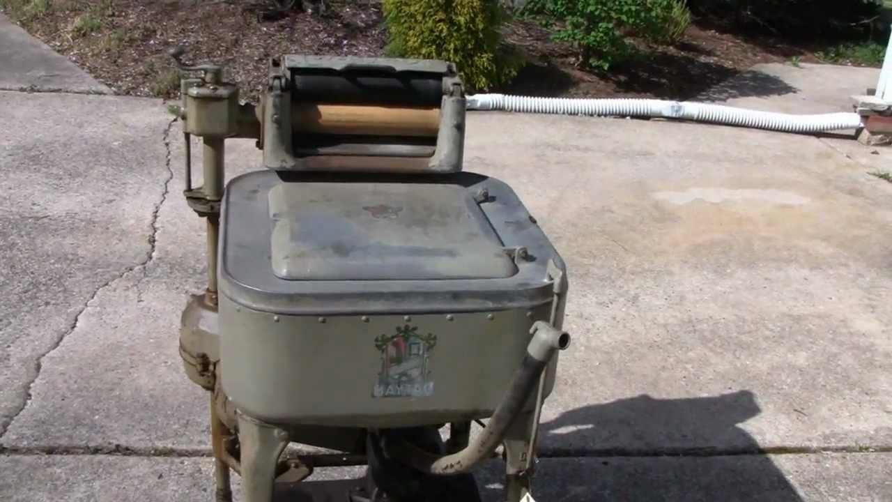 Maytag wringer washer service manual