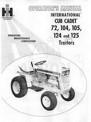 Cub cadet sc100 engine owners manual