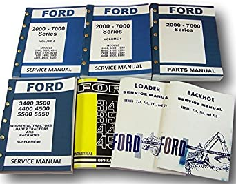 Ford 3400 service manual free download