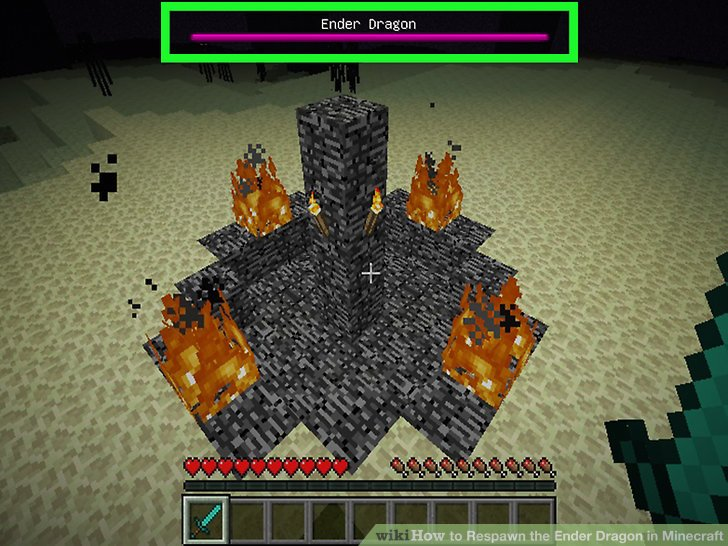 Minecraft how to get a ender dragon egg