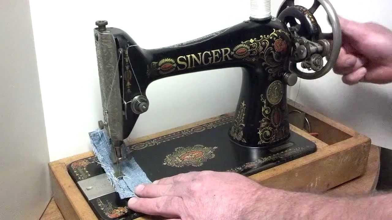 1910 singer sewing machine manual