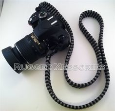 paracord camera strap instructions