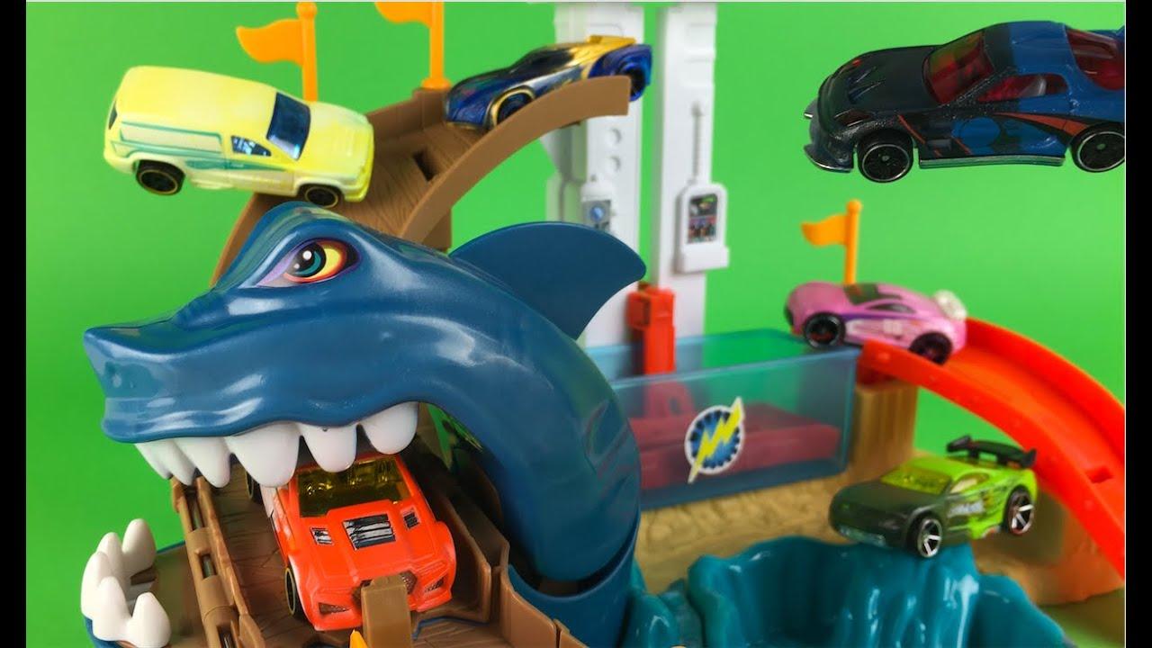 Hot wheels shark attack instructions