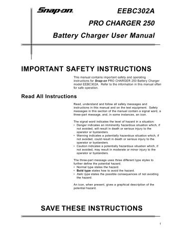 Snap on ethos user manual