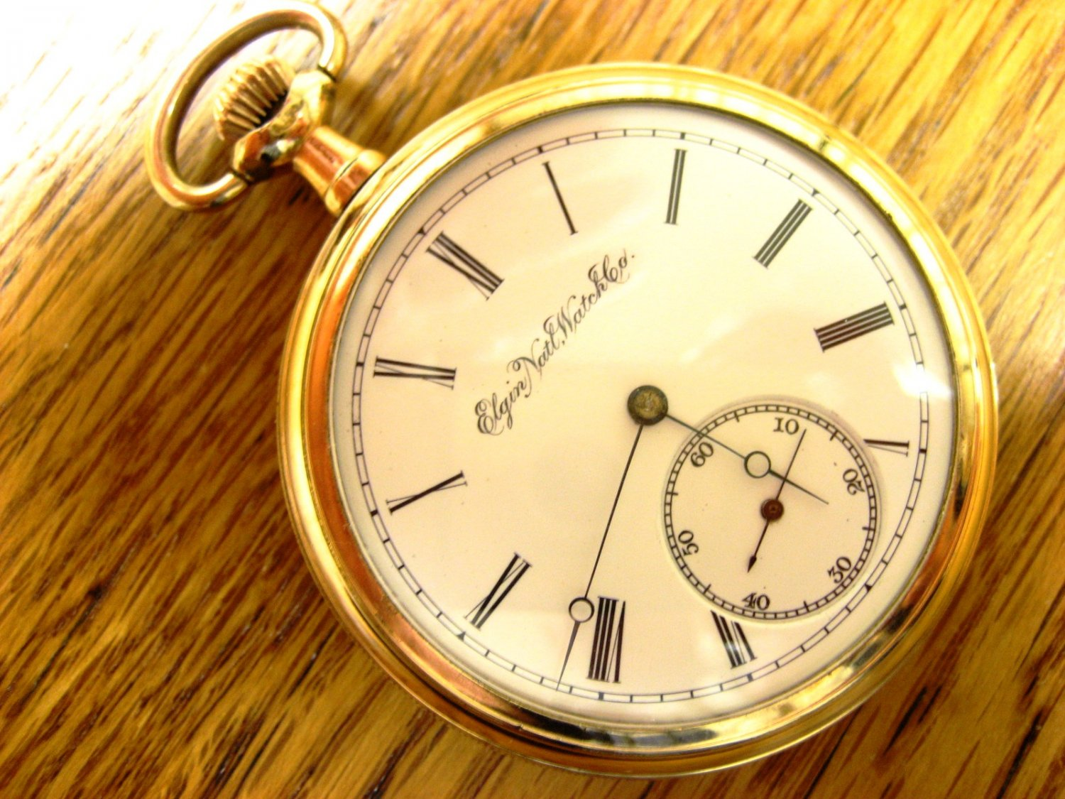 Elgin pocket watch value guide