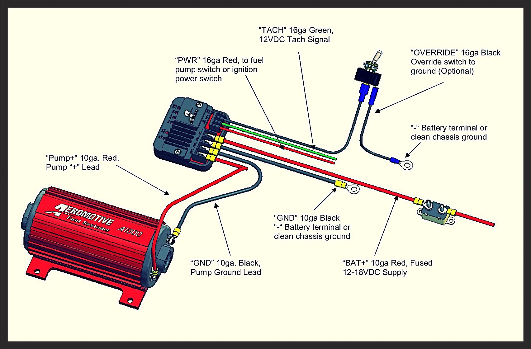 Aeromotive fuel pump controller instructions