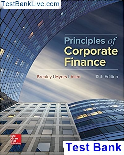 Fundamentals of corporate finance 8th edition pdf