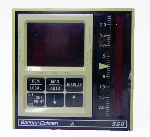 barber colman temperature controller manual