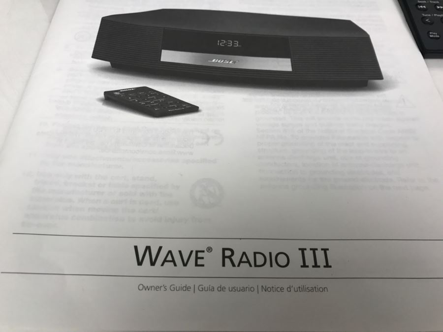 Bose wave radio ii manual