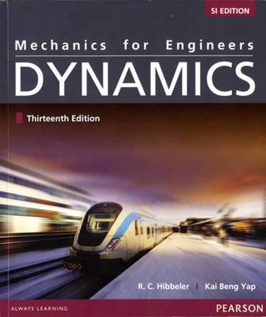 Engineering mechanics statics and dynamics rc hibbeler pdf
