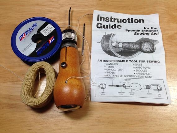speedy stitcher awl instructions