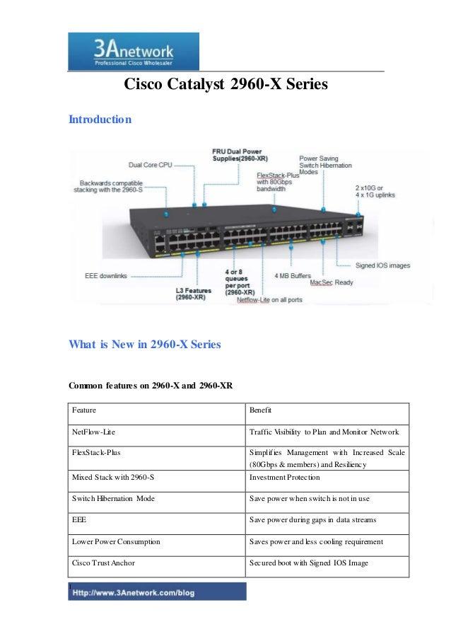 cisco catalyst 2960 x manual